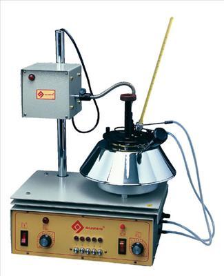 Imagem 2: Aparelho usado para ensaio de ponto de fulgor vaso fechado.